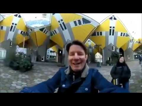 Rotterdam in 360 🌐 Sightseeing Tour Hello from Holland 🌷🇳🇱