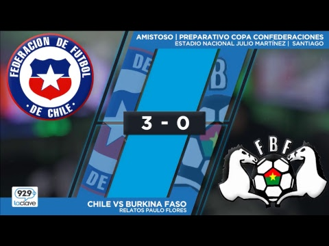 #ChilexLaClave  Chile vs Burkina Faso