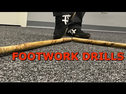 Basic Footwork Drills - Filipino Martial Arts with Paul Ingram