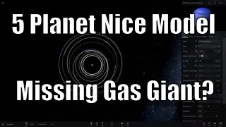 Were There 5 Gas Giants Before? 5 PLANET NICE MODEL - Universe Sandbox²
