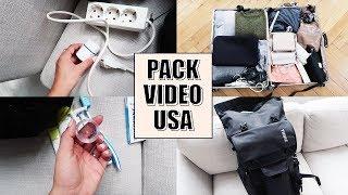 KOFFER PACKEN: 2 Monate in den USA + gratis Packliste!