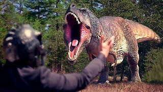 JURASSIC GAMES Official Trailer 2018 Dinosaur Movie HD
