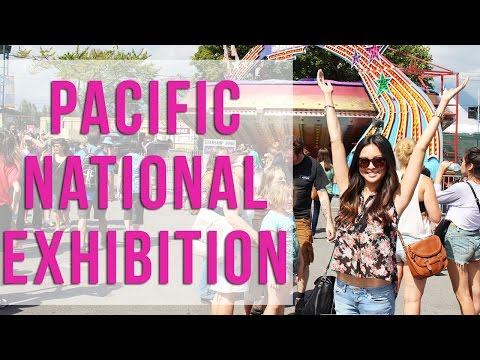Jen Goes To The PNE Fair in Vancouver!