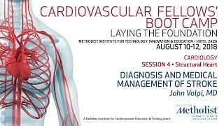Diagnosis and Medical Management of Stroke (John Volpi, MD)