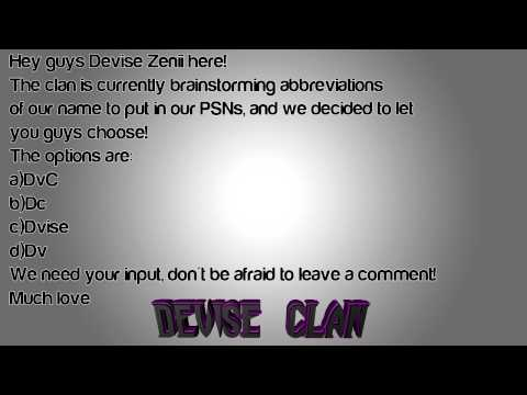 Clan Abbreviations | Input Needed!