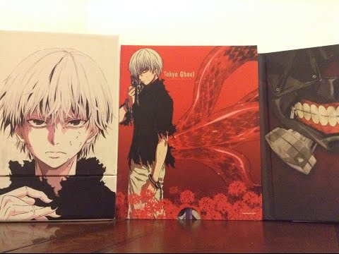 Anime Unboxing - Tokyo Ghoul Season 1 Collector's Edition