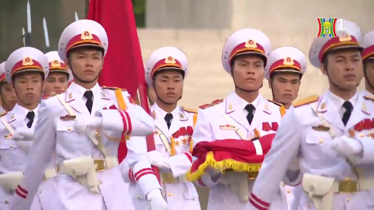 Hà Nội đẹp và chưa đẹp   2 9 2017   Quảng trường Ba Đình lịch sử   Lễ thượng cờ, hạ cờ