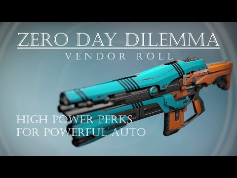 Destiny - Zero Day Dilemma - Vendor Roll Hits Hard! - PVP Gameplay Review
