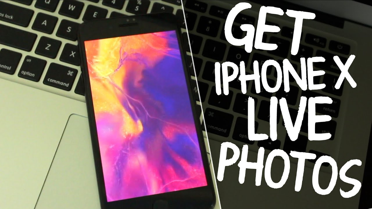 How To Get iPhone X Live Wallpapers on Any iPhone For Free - YouTube