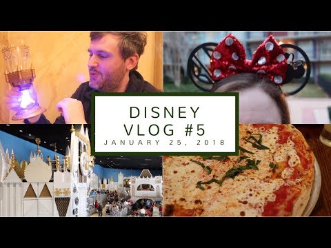 Disney Vlog Day 5 | Be Our Guest Breakfast, Souvenir Shopping in Epcot, + Via Napoli | Jan. 25, 2018