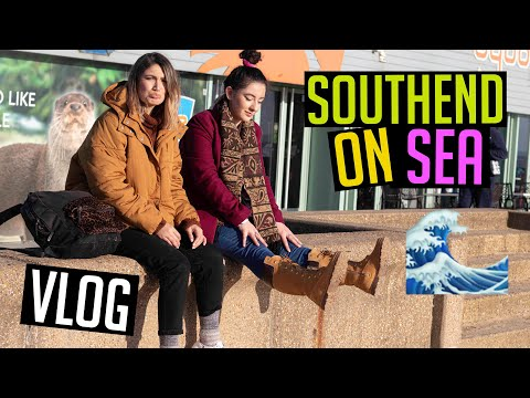 Southend on Sea | Longest pier in the world | Day trip | VLOG ☀️
