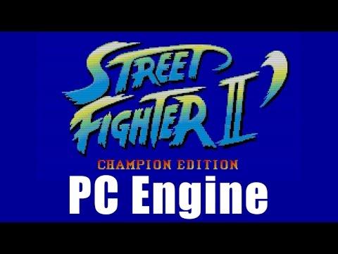 スタッフロール - ストリートファイターII ダッシュ(PCエンジン)