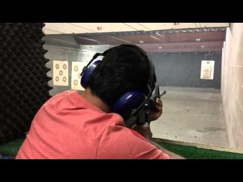 AR 15 rifle shooting!