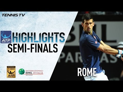 Highlights: Djokovic Zverev Through To Rome 2017 Final