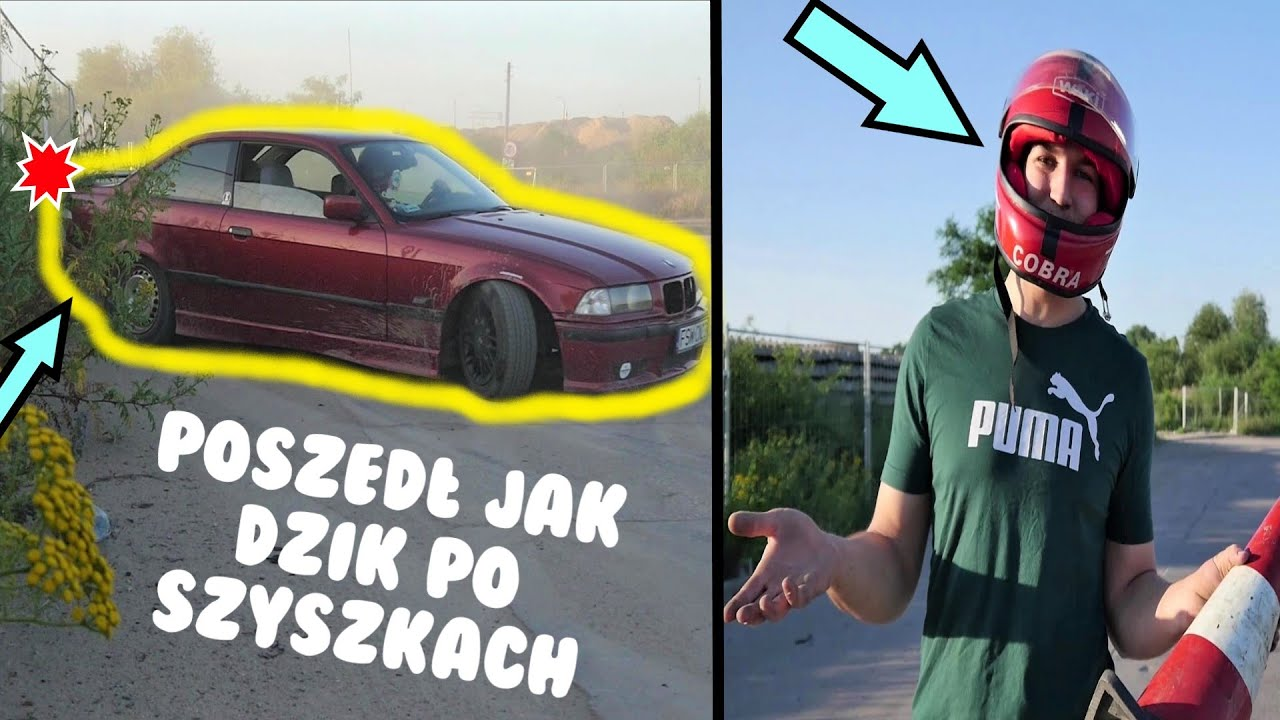 W KOŃCU POUPALALIŚMY/NAUKA DRIFTU BMW E36
