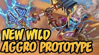 New Wild Aggro Prototype | Rise Of Shadows | Hearthstone