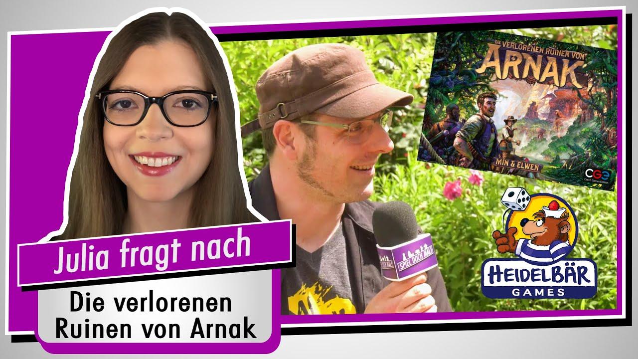 Im Interview: Heiko Eller-Bilz (Die verlorenen Ruinen von Arnak / HeidelBÄR Games / CGE)