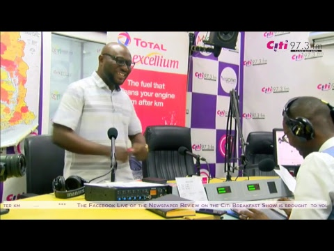 Newspaper Review on the Citi Breakfast Show