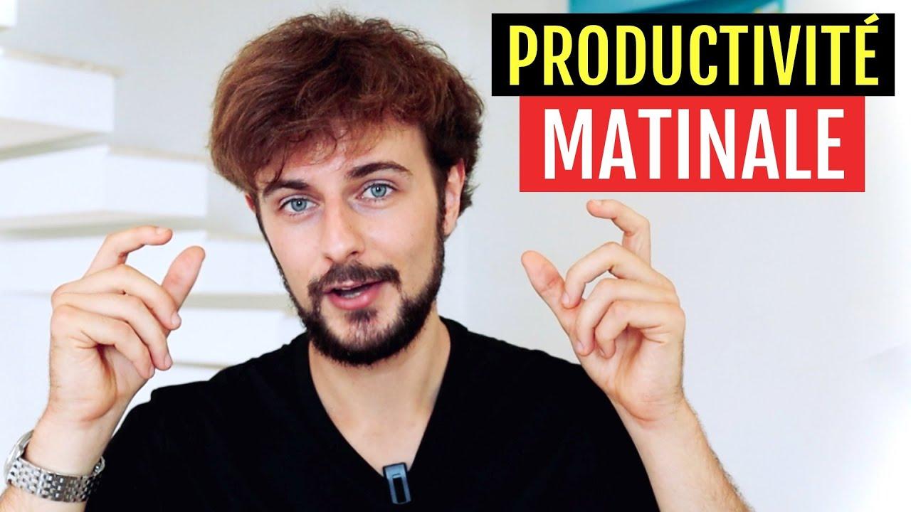 Comment être PRODUCTIF le MATIN ? - YouTube