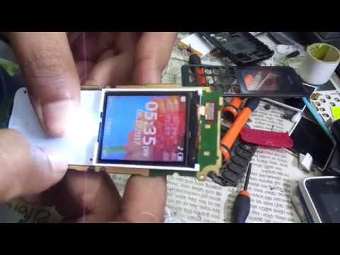 Nokia 108 display change