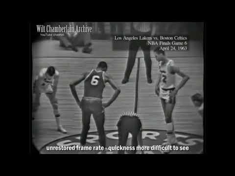 1963 NBA Finals - frame rate restoration test (watch in 720p 60fps)