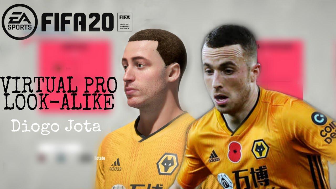 FIFA 20   DIOGO JOTA LOOK ALIKE