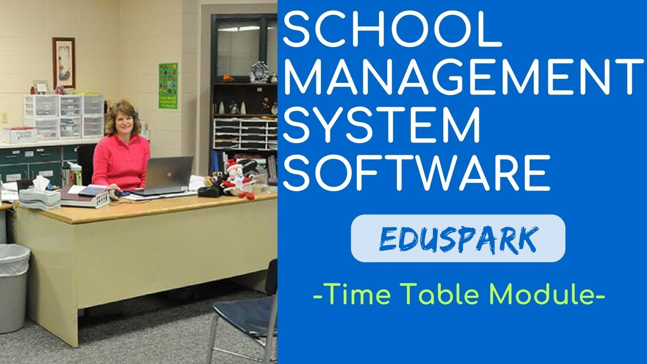online school college management system software time table module