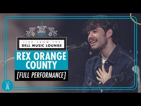 Rex Orange County [Full LIVE Performance + Interview] | Austin City Limits Radio
