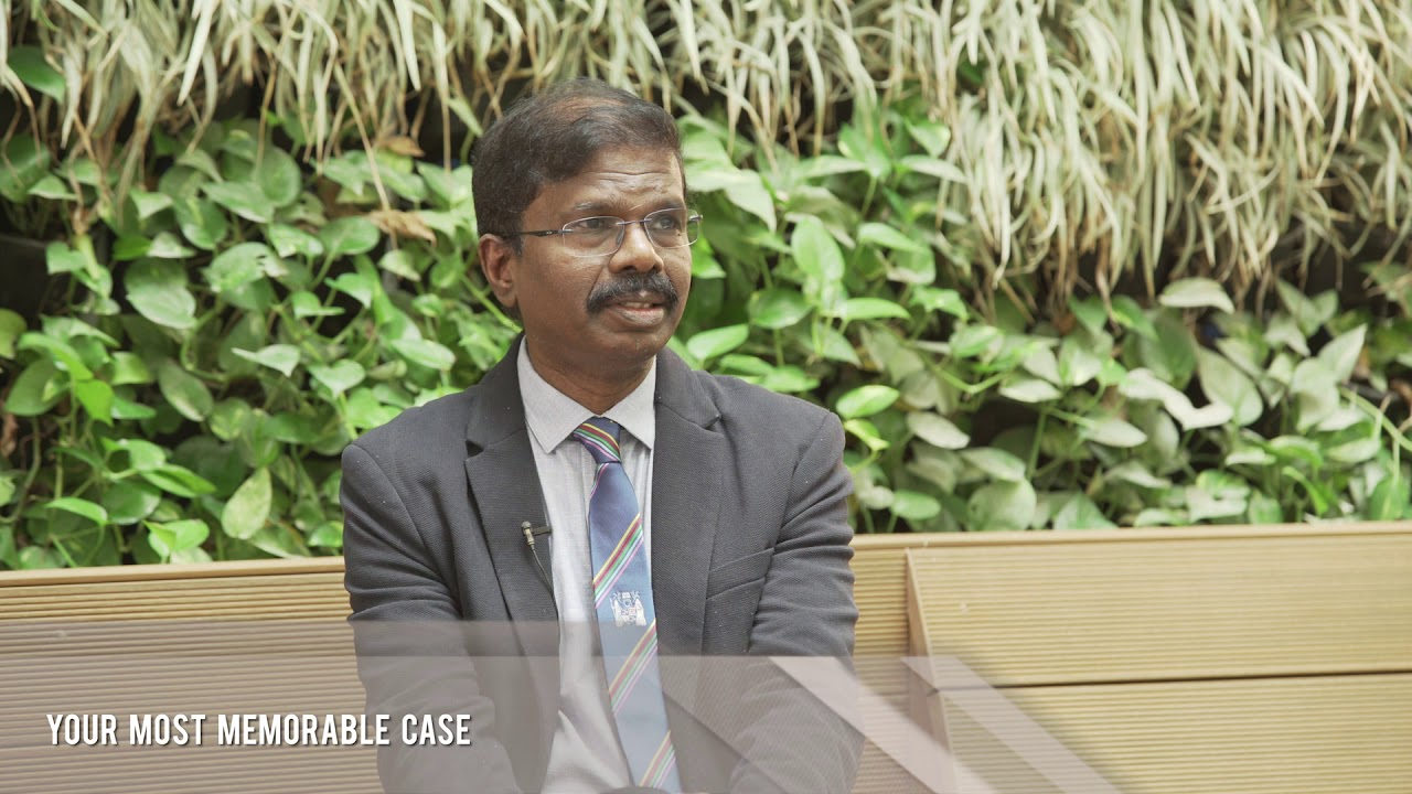 MGM Healthcare Senior Consultant & Clinical Lead for Internal Medicine, Dr Swamikannu