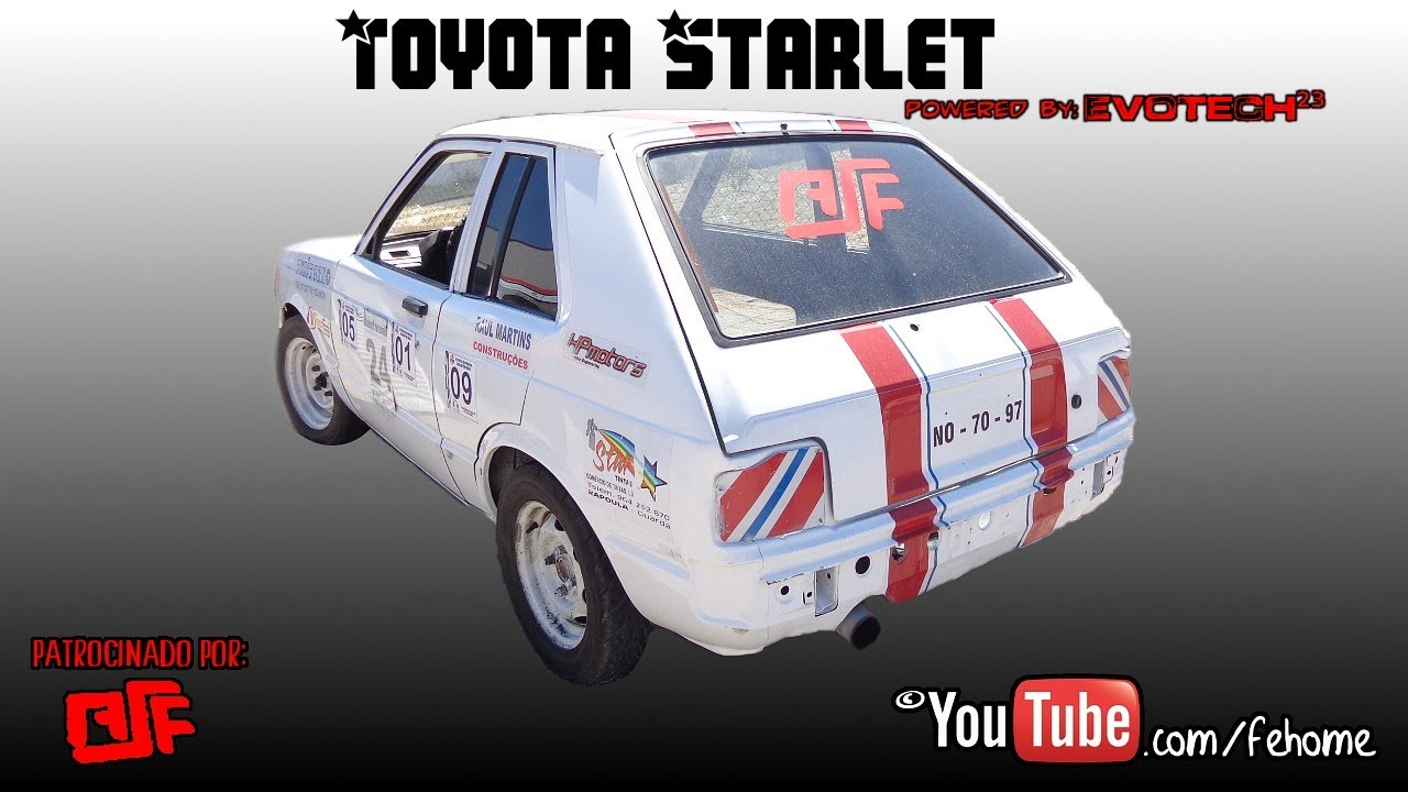 Toyota Starlet Powered by EvoTech²³
