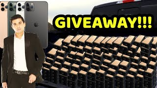 BIGGEST GIVEAWAY!!! iPHONE 11 Pro Max/Pro and More!!! Part 2