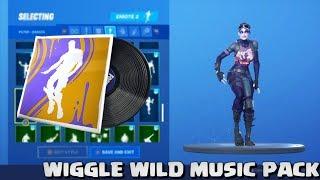 Fortnite - Wiggle Wild Music Pack avec Wiggle emote!