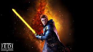 Star Wars Jedi: Fallen Order - All Bosses - Jedi Grandmaster: No Damage (PS4 PRO)