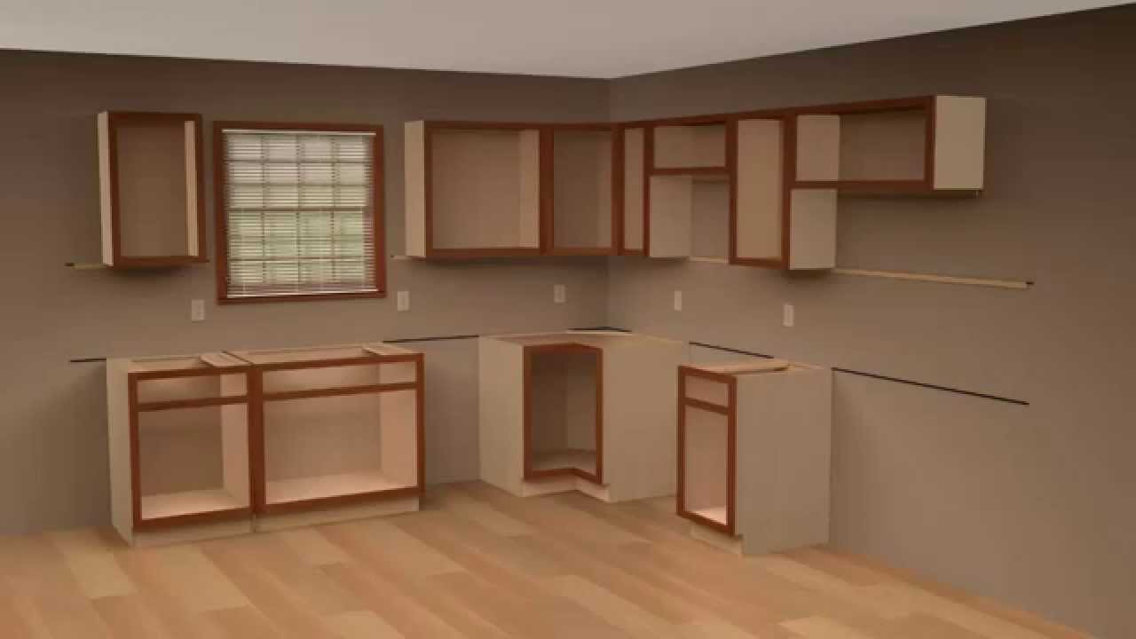 kitchen cabinets set red cherry 2 cliqstudios cabinet installation guide chapter youtube this video is unavailable