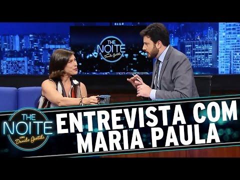 The Noite (16/02/16) - Entrevista Com Maria Paula