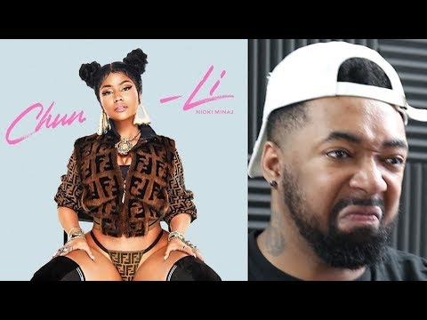 Nicki Minaj - Chun-Li - REACTIONS