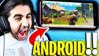 🔴FORTNITE OMG ENFIN ON ANDROID📲!!✔️!