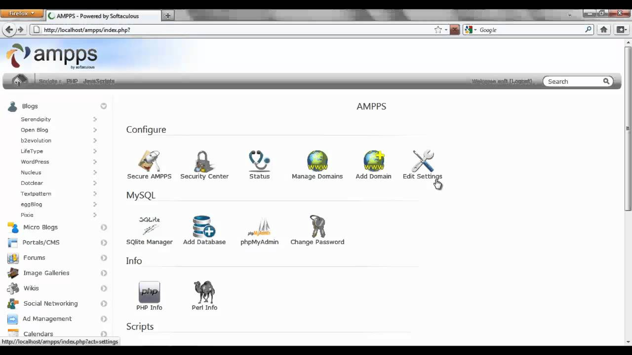 How to Add a Domain in AMPPS