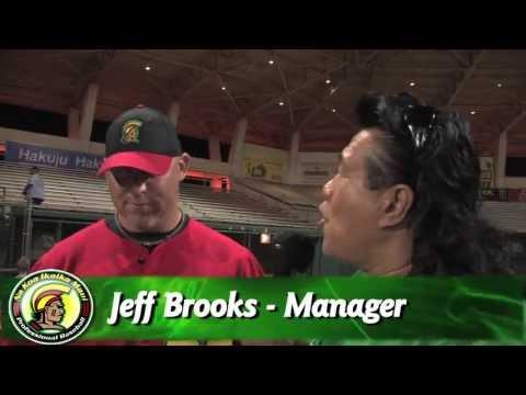 05/29/13 Manager Jeff Brooks Interview - Na Koa Ikaika Maui Baseball