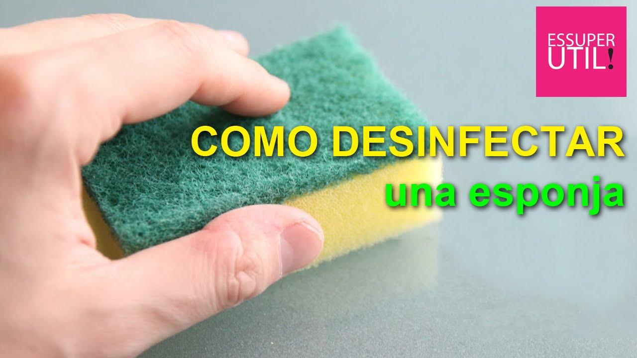 Aprende a c mo desinfectar una esponja o estropajo youtube for Como se cocina el seitan
