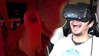 THE HORROR ELEVATOR IN VIRTUAL REALITY!! - Roblox