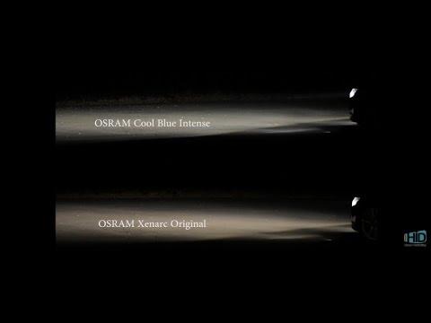 OSRAM Original xenon VS coolblue - YouTube