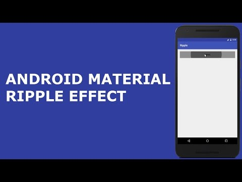 ANDROID MATERIAL DESIGN RIPPLE EFFECT Mp3