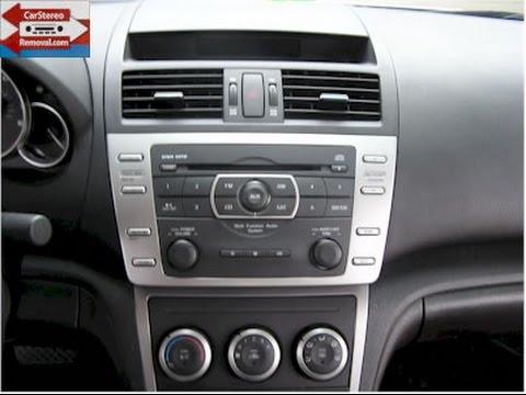 mazda 6 car stereo removal youtube. Black Bedroom Furniture Sets. Home Design Ideas