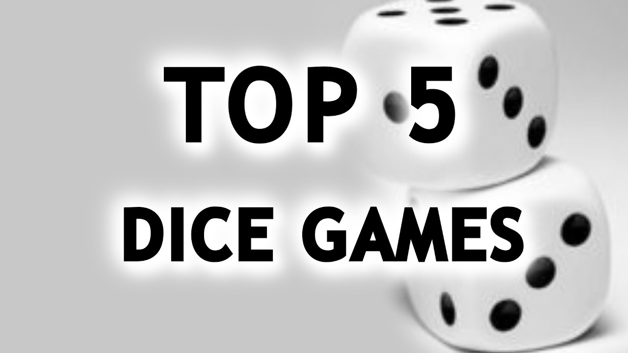 Top 5 Dice Games | TALKIN TABLE TOP