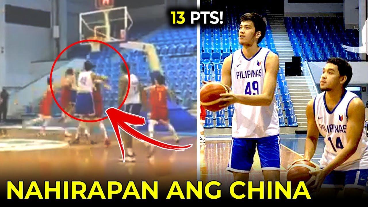 Kai Sotto 13pts! | Gilas PINAHIRAPAN ang China sa tune-up game!