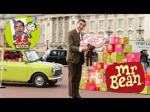 Mr. Bean - 25th Anniversary - Mr Bean Drives His Car Again!