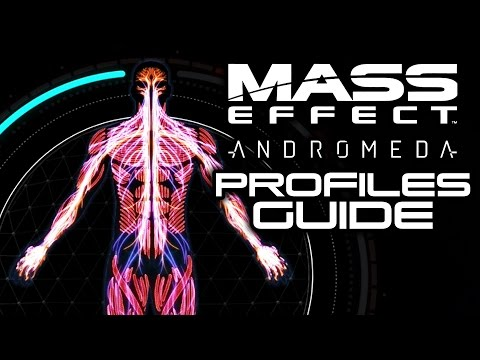 MASS EFFECT ANDROMEDA: How To Unlock Combat Profiles! (Basic Profiles Class Guide)