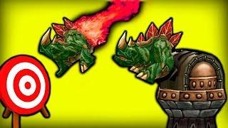 башня стреляет ящерицами frenzy td а warcraft 3