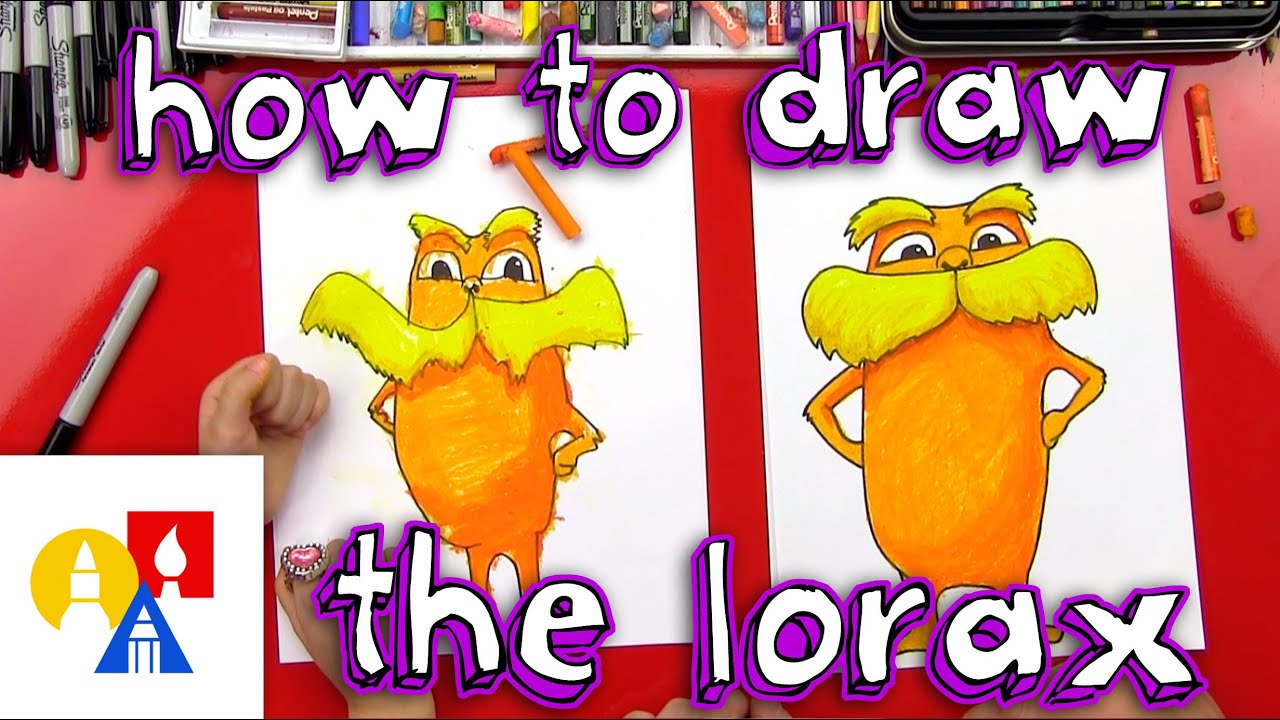 How To Draw The Lorax + Giveaway